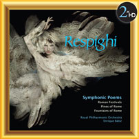 Respighy Symphonic Poems Cover